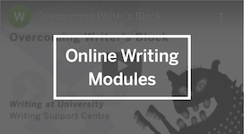 Online Writing Modules